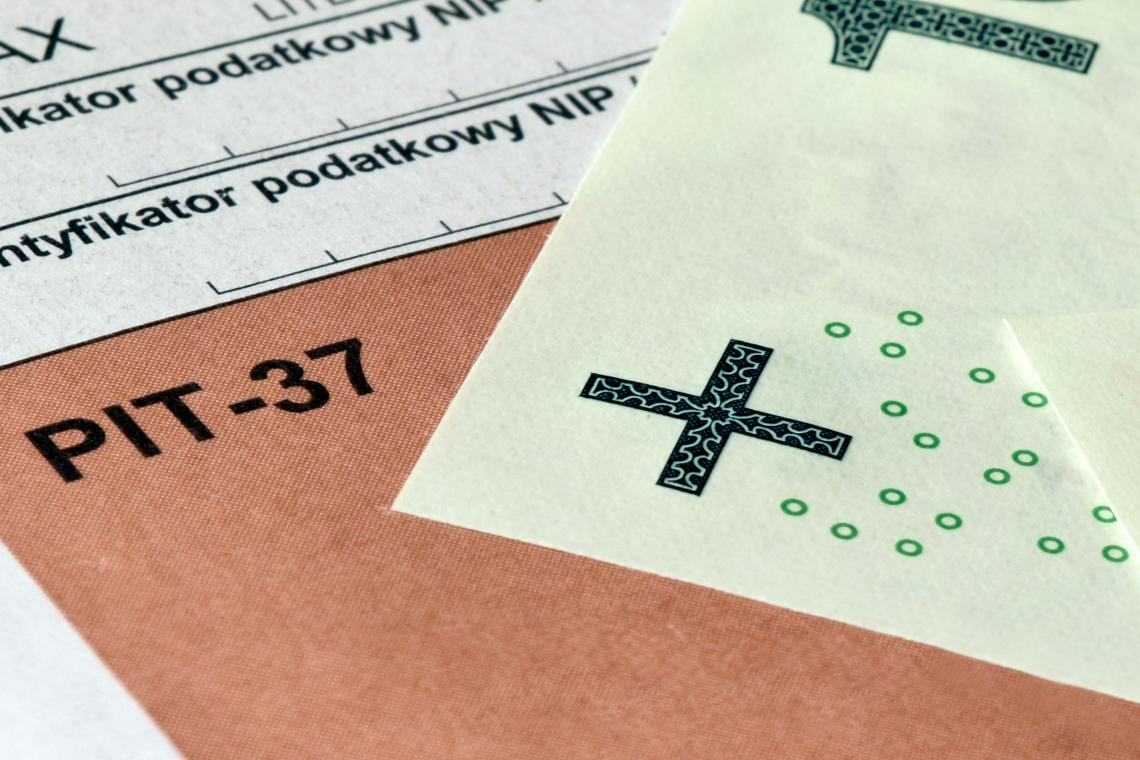 Rozliczenie podatku PIT na druku PIT-37